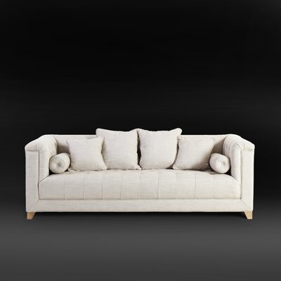 Loft Button Tufted Sofa Couch