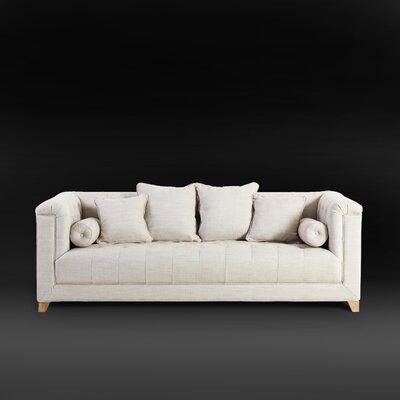 Loft Button Tufted Chesterfield Sofa