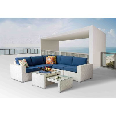 8 Piece Deep Seating Group with Cushion