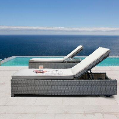 Leggero Poolside Double Chaise Lounge