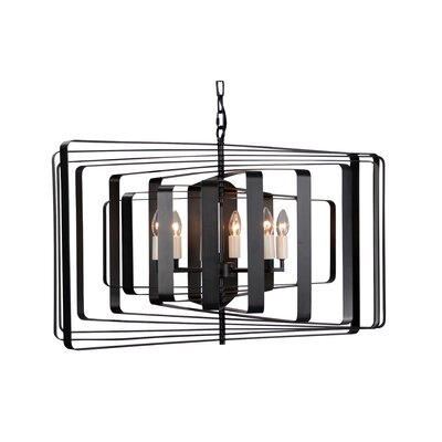 Torcia III 6-Light Candle-Syle Chandelier