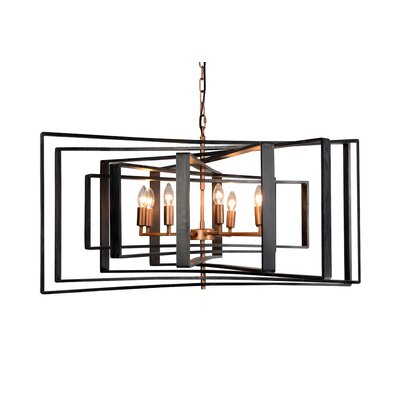 Torcia I 8-Light LED Candle-Syle Chandelier