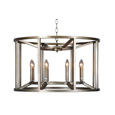 Reticolo 8-Light Candle-Style Chandelier