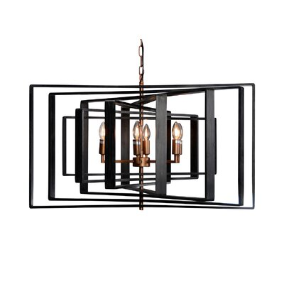 Torcia I 6-Light Candle-Syle Chandelier