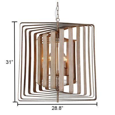 Torcia II 6-Light LED Candle-Syle Chandelier