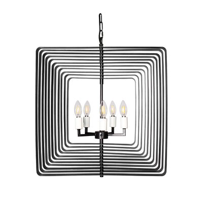 Torcia II 5-Light Candle-Syle Chandelier