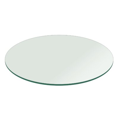 Tempered Table Top Size: 60L x 60W