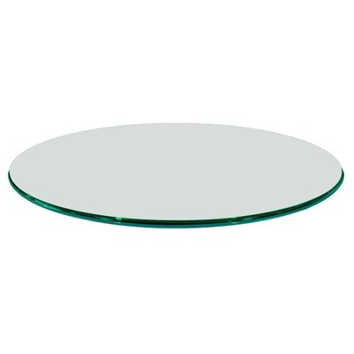 Round Ogee Tempered Glass Table Top