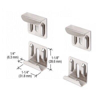 Nickel Plated J-Mirror Clip