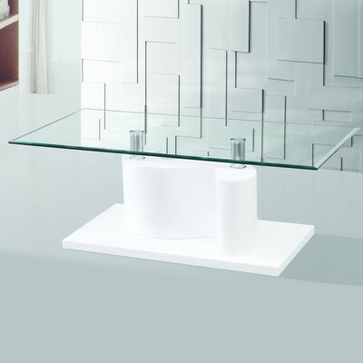The Infinity Tempered Glass Coffee Table