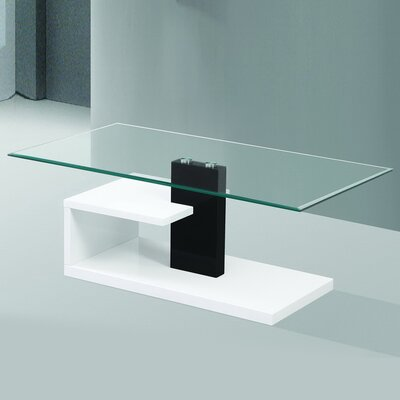Modern Tempered Glass Coffee Table FGM-BC119
