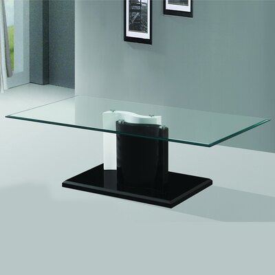 The Kernel Tempered Glass Coffee Table