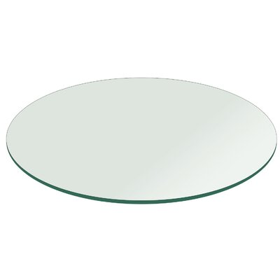 Round Tempered Glass Table Top