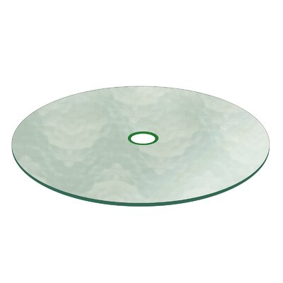 Berdine Patio Glass Table Top Size: 41.5 L x 41.5 W