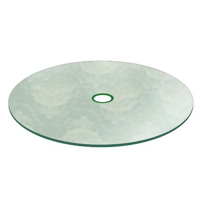 Berdine Patio Glass Table Top Size: 48 L x 48 W