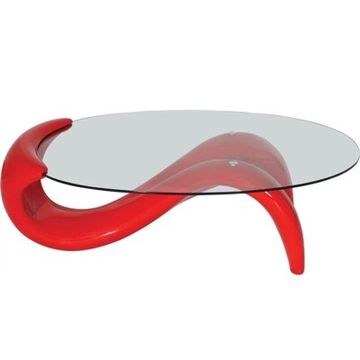 Coffee Table Base Color: Red
