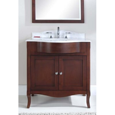 Dalian 32 Single Vanity Set Top Finish: Nova White