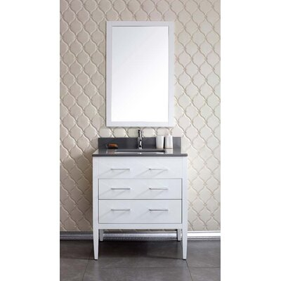 Vienna 31 Single Bathroom Vanity Set Top Finish: Ash Grey