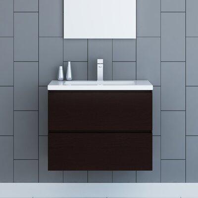 Samaira 30 Single Bathroom Vanity Set Base Finish: Brown