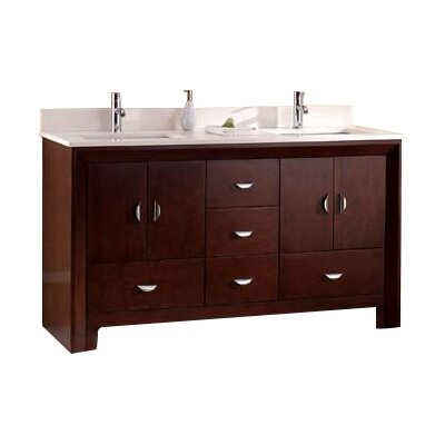 Vienna 31 Single Bathroom Vanity Set Top Finish: Nova White