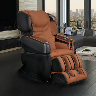 Smart 3D Zero Gravity Reclining Massage Chair Upholstery: Cappucino