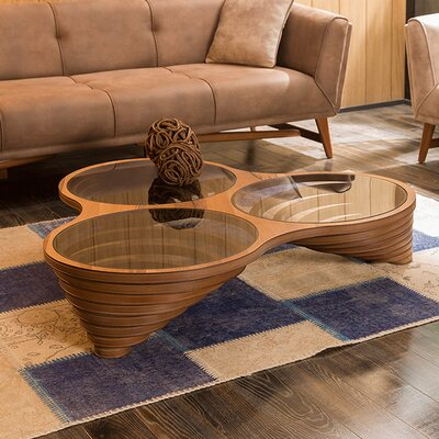 Keyfex Coffee Table Finish: Walnut