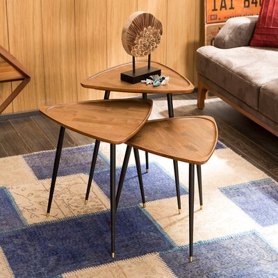 Derick 3 Piece Nesting Tables