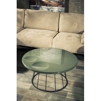 Kammer Coffee Table Size: 13.8 H x 35.4 W x 35.4 D