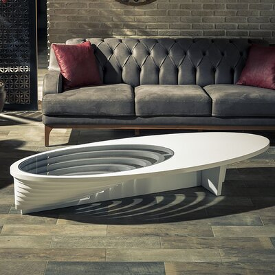 Kalish Coffee Table Finish: White