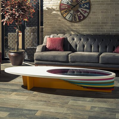 Kalish Coffee Table Color: Multi