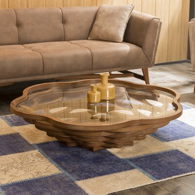 Reiter Coffee Table Color: Walnut