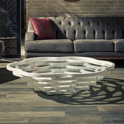 Reiter Coffee Table Color: White
