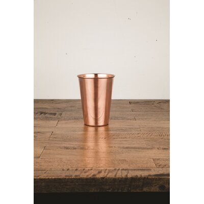 Viski Admiral Solid Copper Pint16 oz. Glass 4288