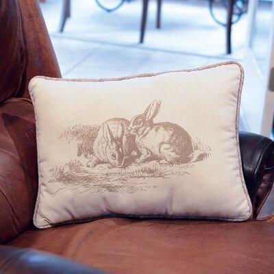 Natural Bunnies Lumbar Pillow