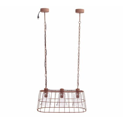 Whooten Hanging Light Fixture 3-Light Kitchen Island Pendant
