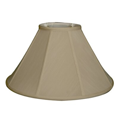 Regal 18 Silk/Shantung Empire Lamp Shade Color: Beige