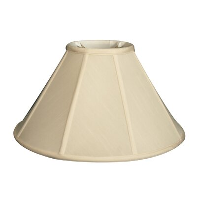 Timeless 13 Silk Empire Lamp Shade Color: Eggshell