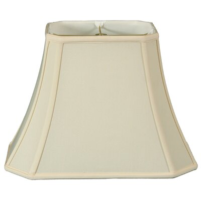 Regal 16 Silk/Shantung Bell Lamp Shade Color: Eggshell
