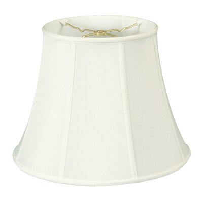 Timeless 15 Silk Bell Lamp Shade Color: White/Off White
