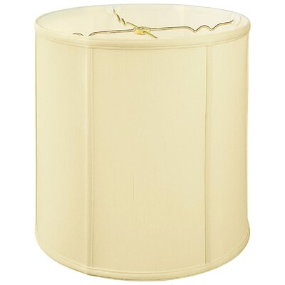 Regal 15 Silk/Shantung Drum Lamp Shade Color: Eggshell