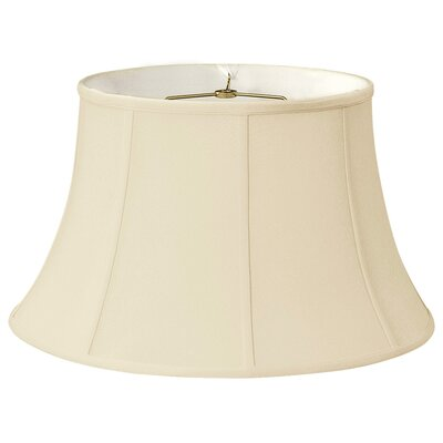 Timeless 12 Silk Bell Lamp Shade Color: Eggshell