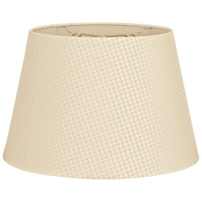 Timeless Tapered 18 Shantung Empire Lamp Shade Color: Beige Cream