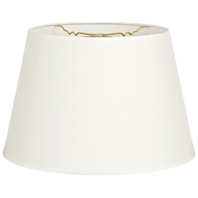 Timeless Tapered 18 Shantung Empire Lamp Shade Color: White