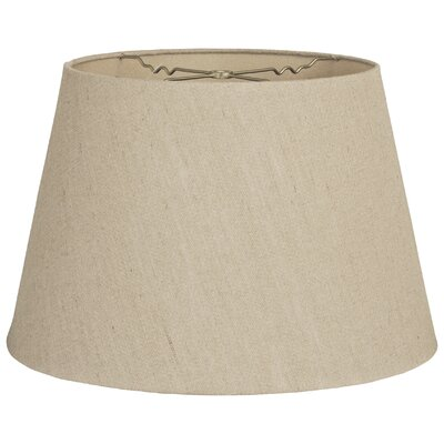 Timeless Tapered 18 Linen Empire Lamp Shade Color: Linen Belgium