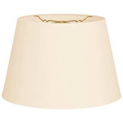 Timeless Tapered 14 Shantung Empire Lamp Shade Color: Eggshell