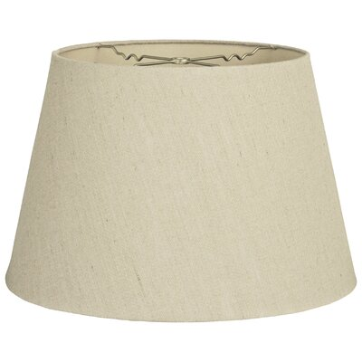 Timeless Tapered 5 Linen Empire Lamp Shade Color: Linen Beige