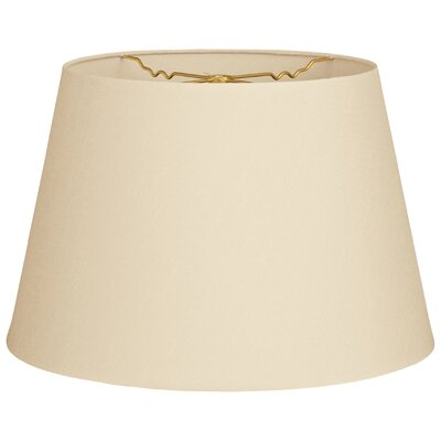 Timeless Tapered 14 Shantung Empire Lamp Shade Color: Beige