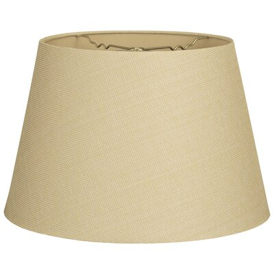 Timeless Tapered 5 Linen Empire Lamp Shade Color: Linen French