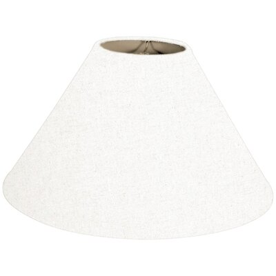 Timeless Coolie 14 Linen Empire Lamp Shade Color: Linen White