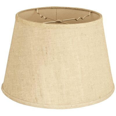 Timeless 12 Linen Empire Lamp Shade Color: Linen Cream